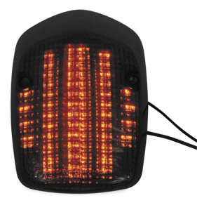 00-07 HONDA VT1100C2S: BikeMaster Integrated Tail Light (SMOKE)