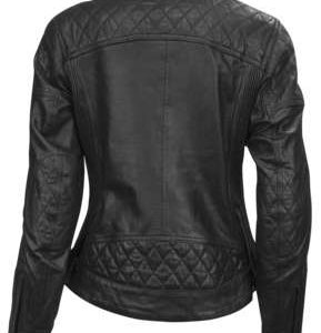 Roland Sands Design Apparel Women's Roland Sands Design Riot Ladies Black Leather Jacket X-Large 0801-1211-0055